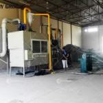 Dubai customer Aluminum-plastic recycling line work site