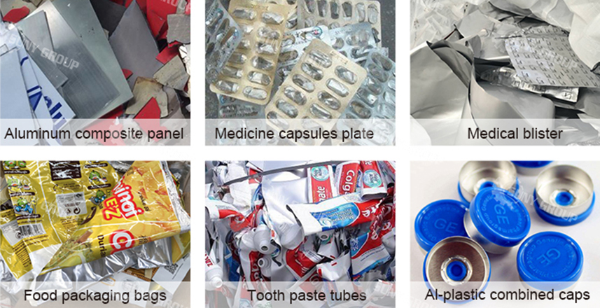 Aluminum Plastic Separator Raw Materials
