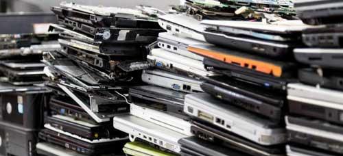 e-waste recycling plant